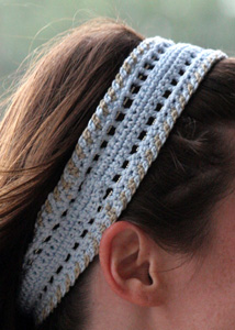 Giulietta Beaded Head Band Close-Up