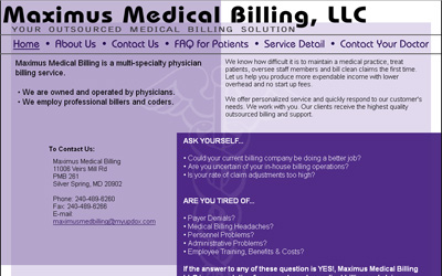 Maximus Medical Billing, LLC