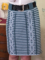Mod Squad Cabled Skirt