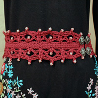 Oslo Boho Beaded Belt